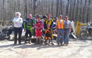 HORRA Trail Cleanup Volunteers